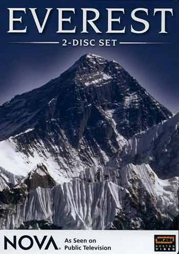 Mount Everest Southwest Face - Nova: Everest DVD cover