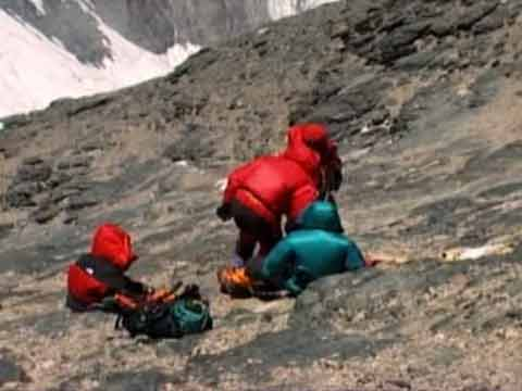Conard Anker and his fellow climbers found the body Of George Mallory on May 1, 1999 - Nova: Lost On Everest DVD