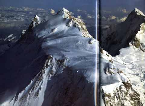 Manaslu Summit Section and Himal Chuli from North - Over the Himalaya book