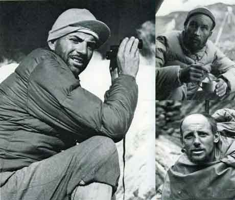 Maurice Herzog, Lionel Terray, Louis Lachenal on first ascent of Annapurna 1950 - Quest For Adventure book