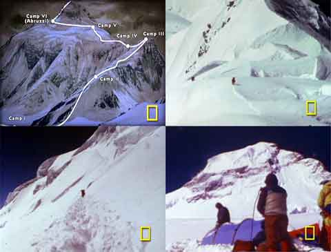 American 1978 K2 Climbing Route, Climbing Scenes - Quest for K2 (National Geographic) DVD