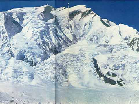 Annapurna North Face Panorama From 5300m - Regards Vers L'Annapurna (Memories Of Annapurna) book