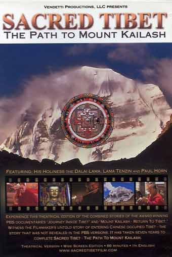 Kailash North Face - Sacred Tibet The Path to Mount Kailash DVD cover