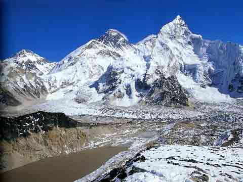 Changtse, Everest, Khumbu Icefall and Glacier, Nuptse From Kala Pattar - Solu-Khumbu: The Trek To Everest book cover