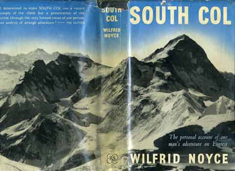 Chomolonzo and Makalu From Mount Everest South Col, with Kangchenjunga on the horizon - South Col book cover