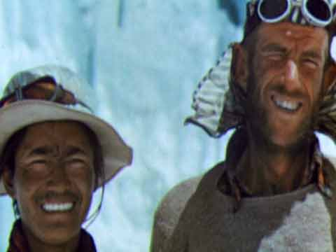 Everest First Ascent - Tenzing Norgay and Sir Edmund Hillary - Conquest Of Everest DVD