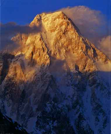 Gasherbrum IV Sunset - The Karakoram: Mountains of Pakistan book