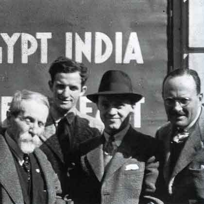 Vittorio Sella, Jack Durrance, Fritz Wiessner, And Dudley Wolfe March 19, 1939 On Ship To India - The Last Man On The Mountain book