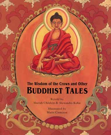Buddha - The Wisdom of the Crows and Other Buddhist Tales book cover