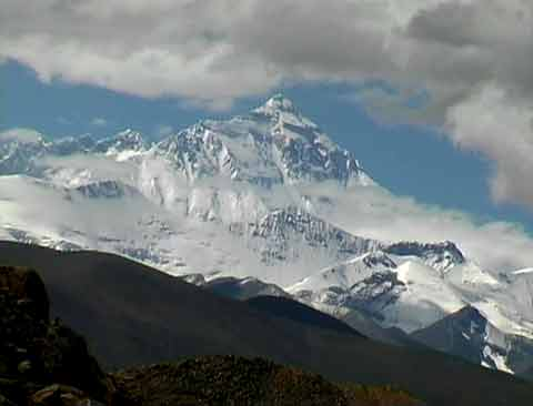 Mount Everest North face From Just Beyond Pang La - Tibet: Himalaya-Trekking im Reich der Achttausender DVD