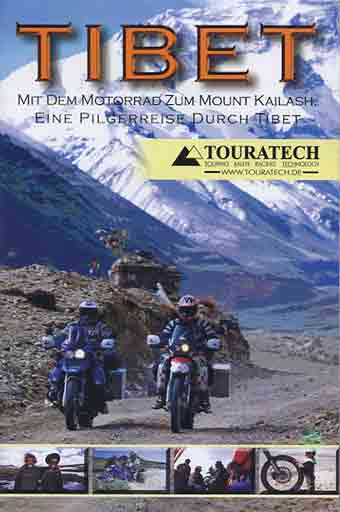 Motorcyclists in front of Everest North Face - Tibet: Mit dem Motorrad zum Mount Kailash DVD cover