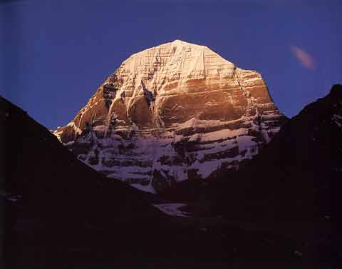 Kailash North Face Sunset - Tibet Nomachi book