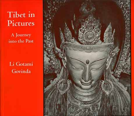 Statue - Tibet in Pictures: A Journey into the Past book cover