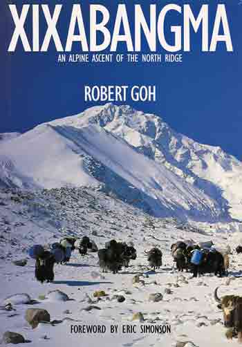Shishapangma From North Advanced Base Camp - Xixabangma: An Alpine Ascent of the North Ridge book cover