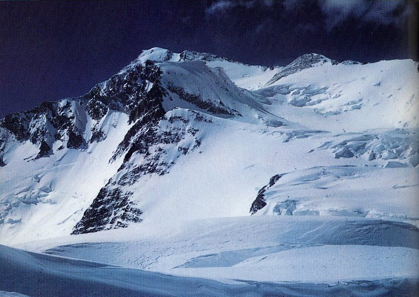 K2 Mountain Map Gasherbrum I Tre...