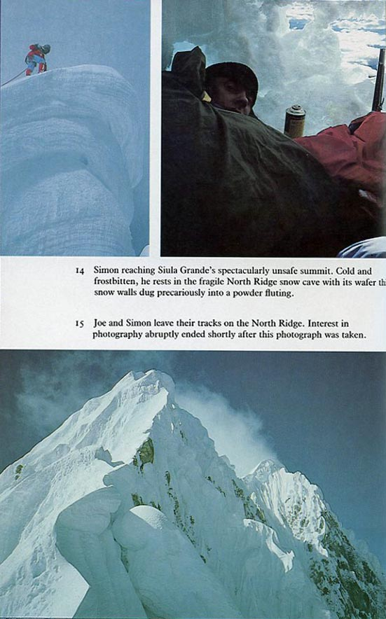 touching the void novel analysis and Touching the void by joe simpson (vintage 1997)  this can be followed by close reading, analysis of the writer's craft and comparison with other texts.