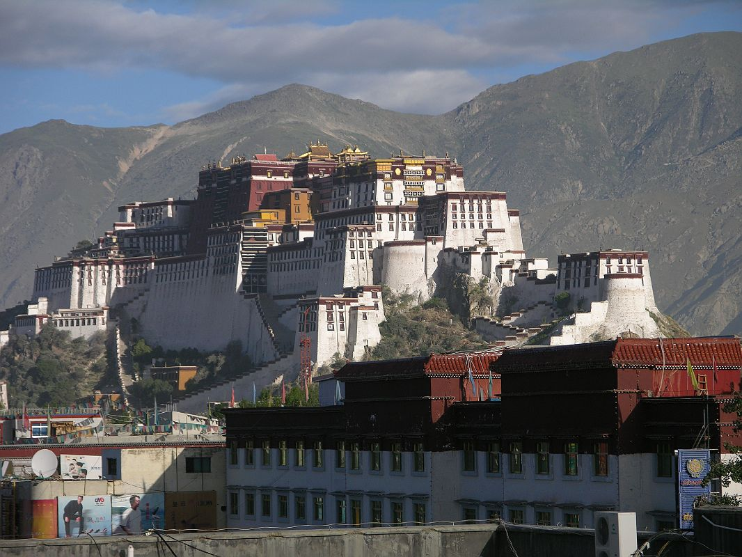 Tibet Lhasa 02 01 Potala Palace From Kyichu Hotel