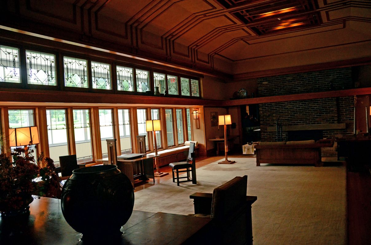 Living Room from the Francis W. Little House: Windows and paneling ...