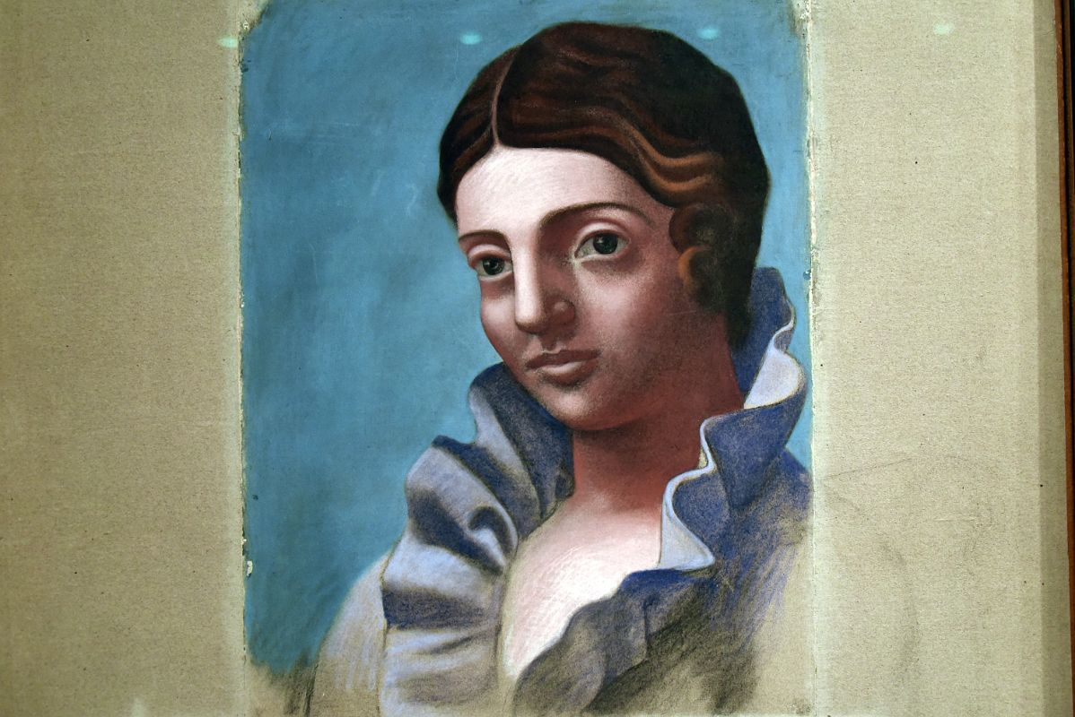 the portrait of olga by pablo Pablo picasso at olga's gallery one of the largest collections of paintings online featuring hundreds of artists and thousands of works large, high-quality images biographies, historical commentary, religious and mythological notes.