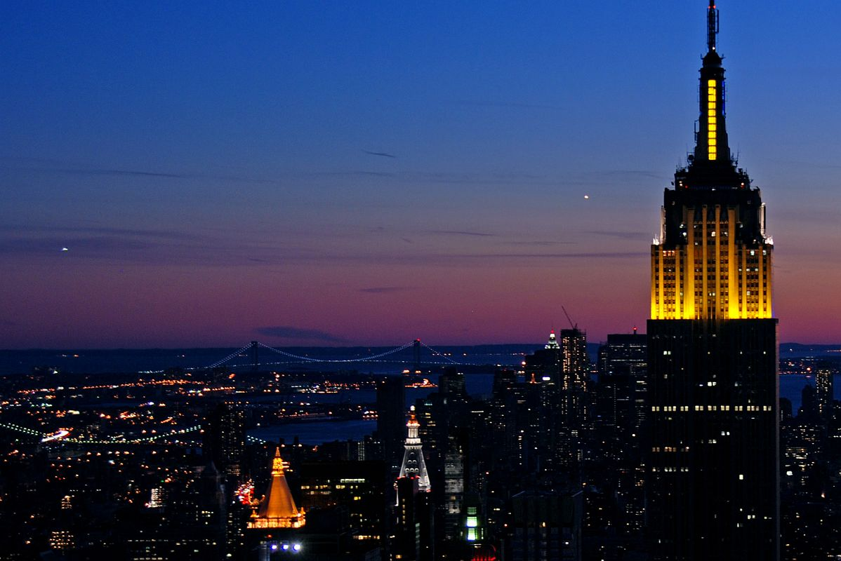 empire state building sunset - photo #26