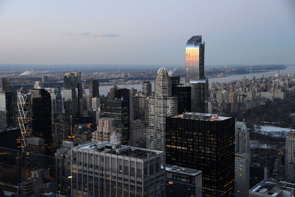 ... Tower, Time Warner Center, CitySpire Center, One57 Just After Sunset After The Sunset