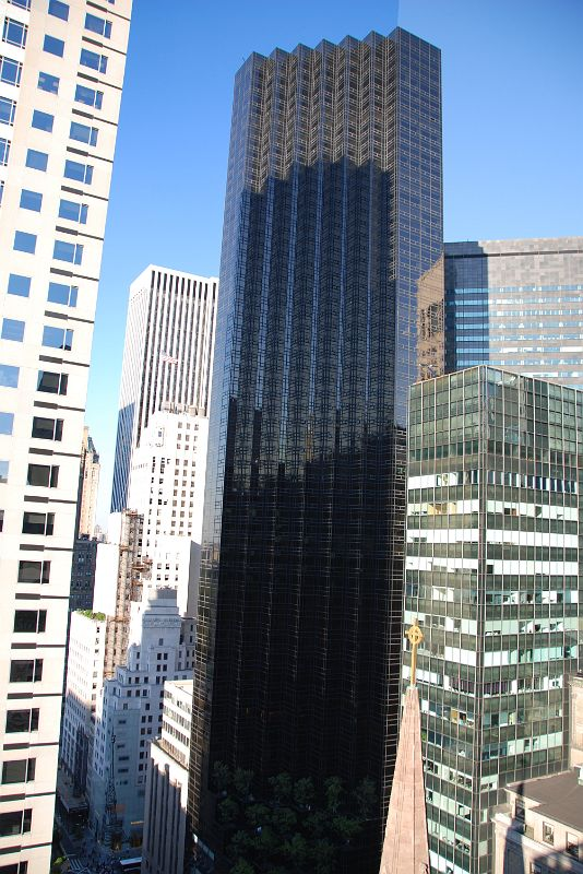 New York City Fifth Avenue 700 7 725 Trump Tower From The