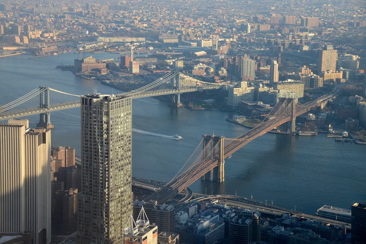 28 New York East River Manhattan Bridge New York By Gehry