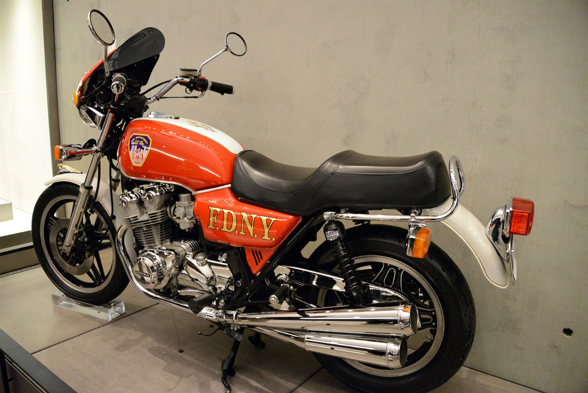 33 Fdny Dream Bike Was Restored For The Members Of Ladder Company