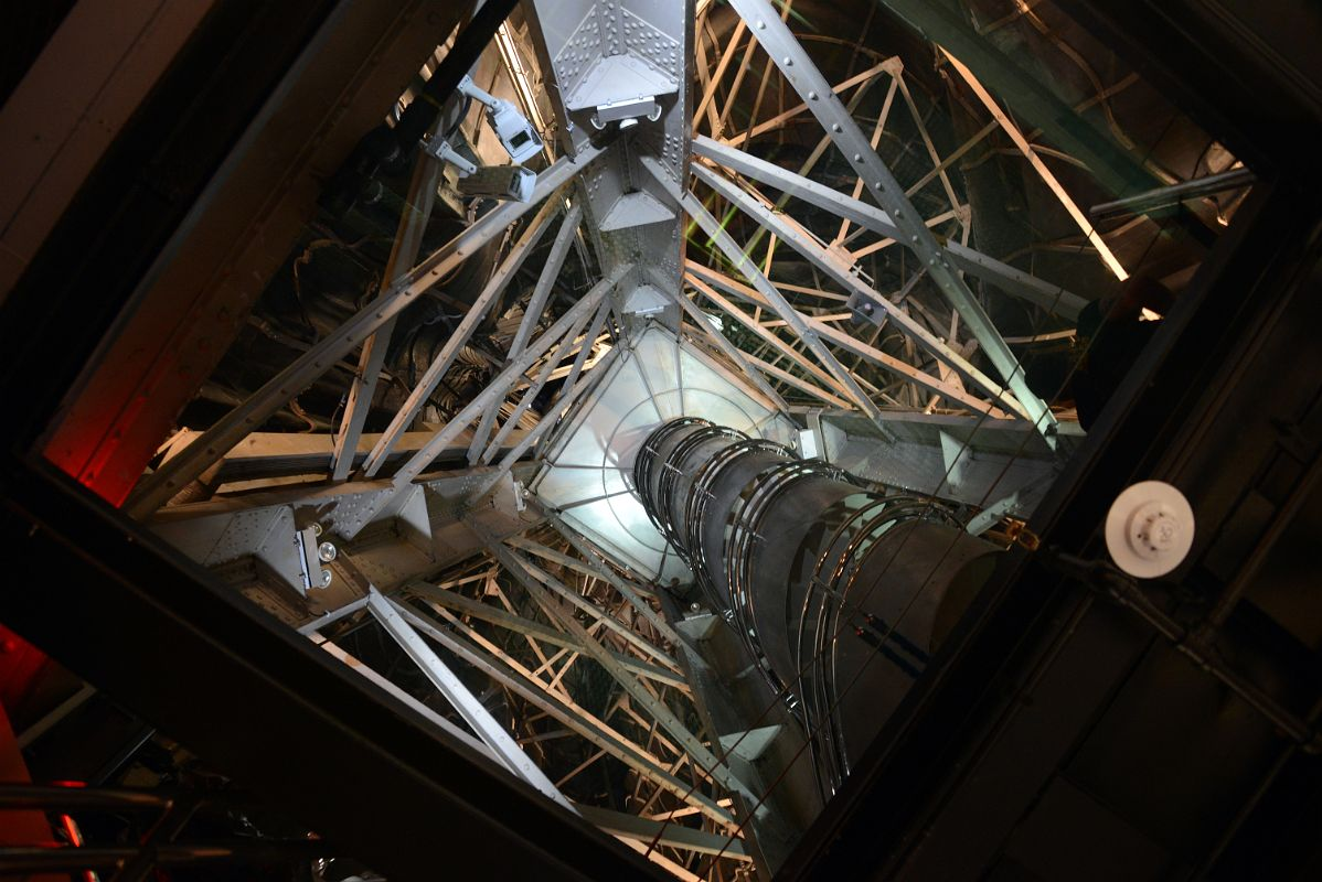 05 06 View Of Narrow Spiral Staircase From Pedestal To The Crown Inside The  Statue Of Liberty