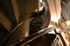 ... 05 08 Narrow Double Helix Spiral Staircase To The Crown Inside The  Statue Of Liberty ...