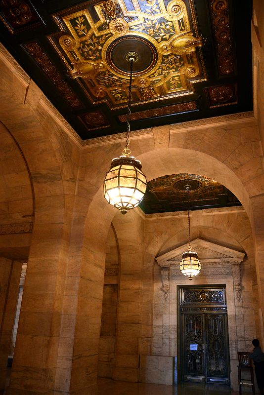 11 1 hallway behind the entrance lobby with chandelier and door new 11 1 hallway behind the entrance lobby with chandelier and door new york city public library main branch aloadofball Gallery
