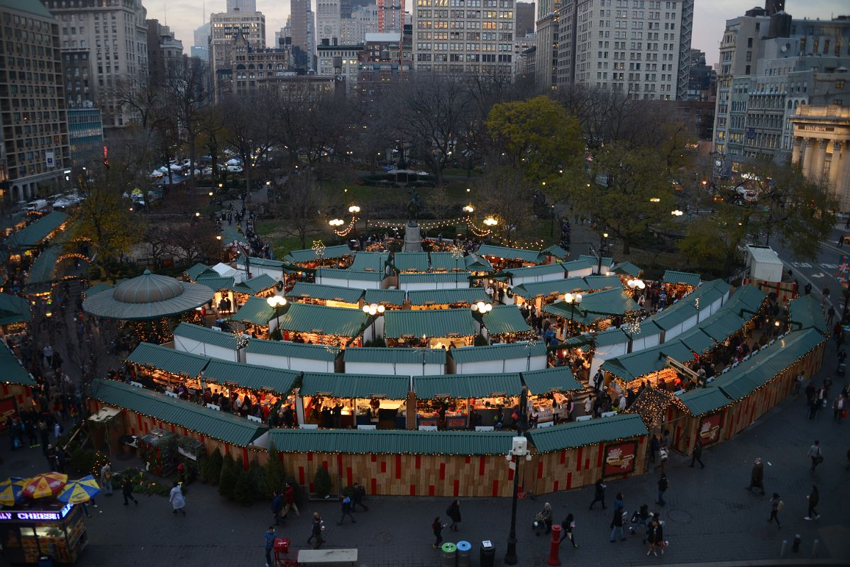 Christmas Market New York City.11 1 Union Square Park Christmas Market New York City