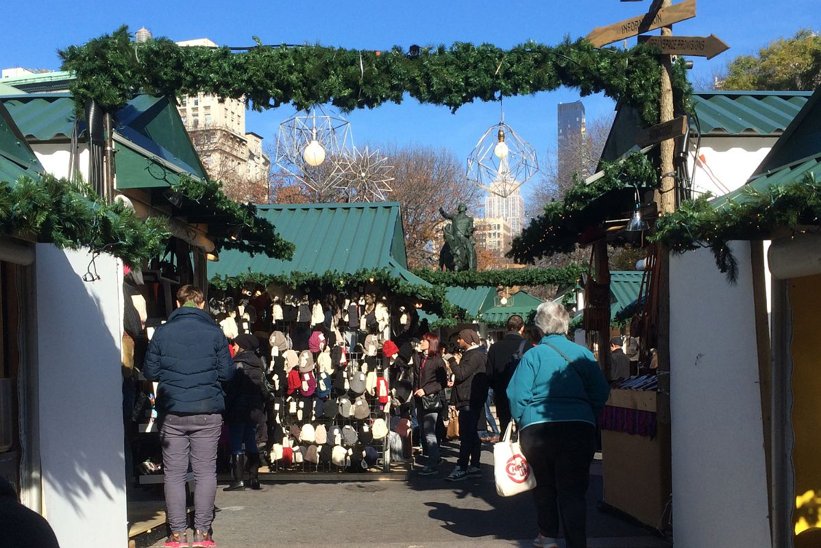 Christmas Market New York City.11 3 Shopping At Union Square Park Christmas Market New York