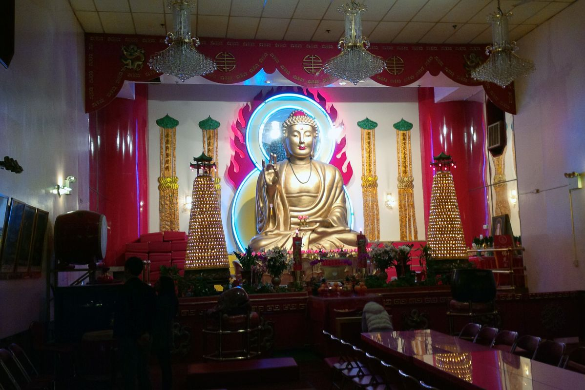 13 3 A Large 5m Tall Buddha Sits Atop A Giant Lotus Flower With An