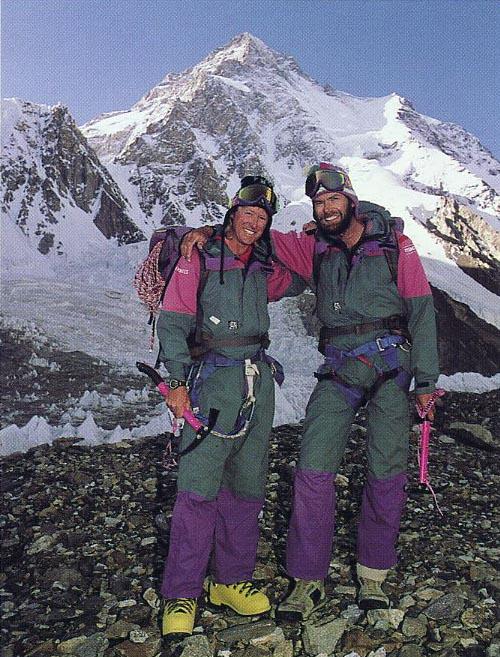 Description: Hall and Ball - Gary Ball And Rob Hall At K2 Base Camp 1992.jpg