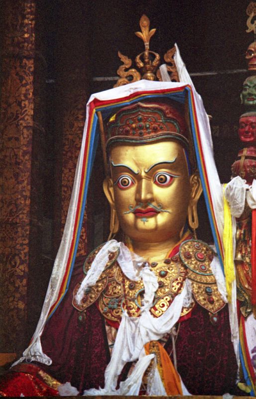 Tibet Lhasa 02 07 Jokhang inside Padmasambhava