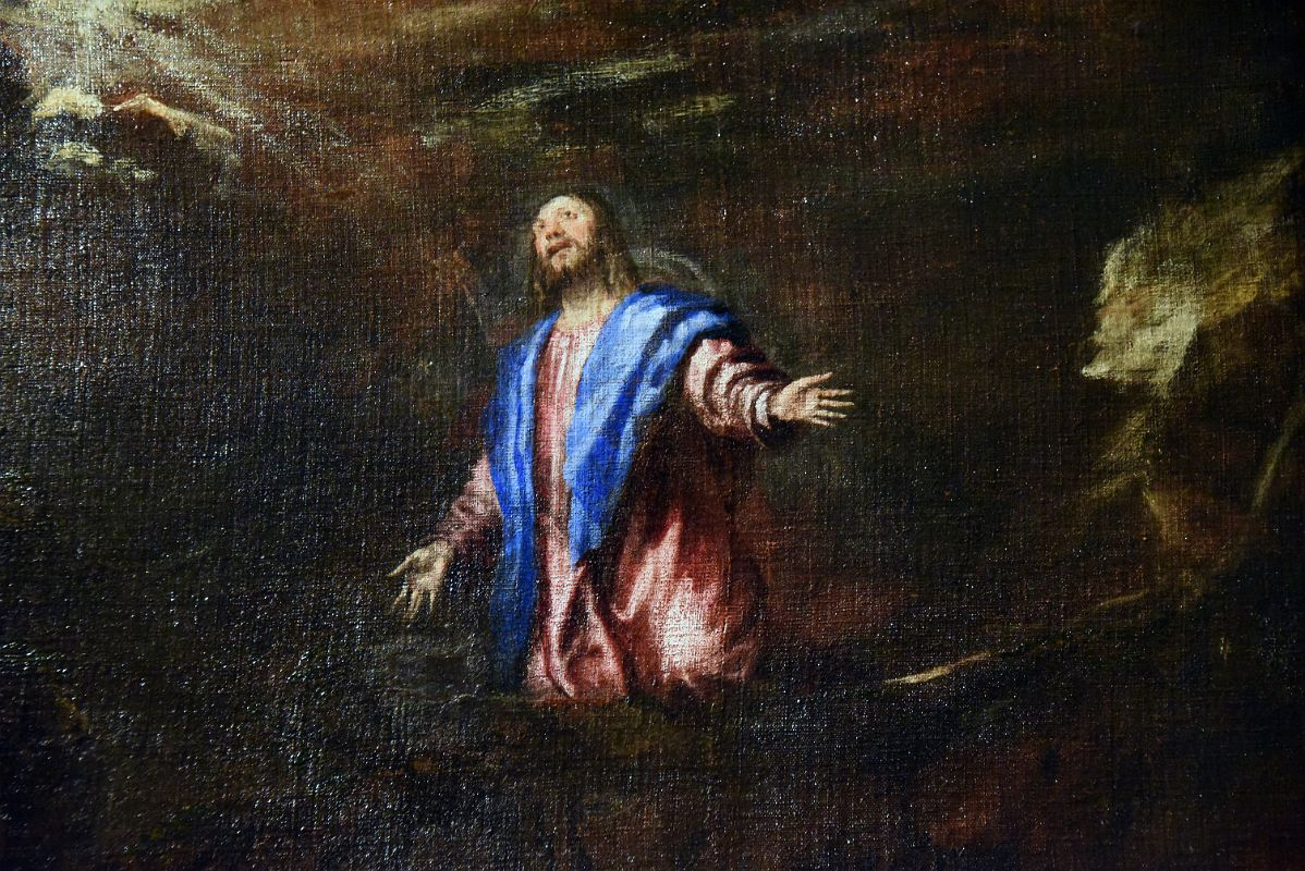 Image result for Agony in the Garden by Titian