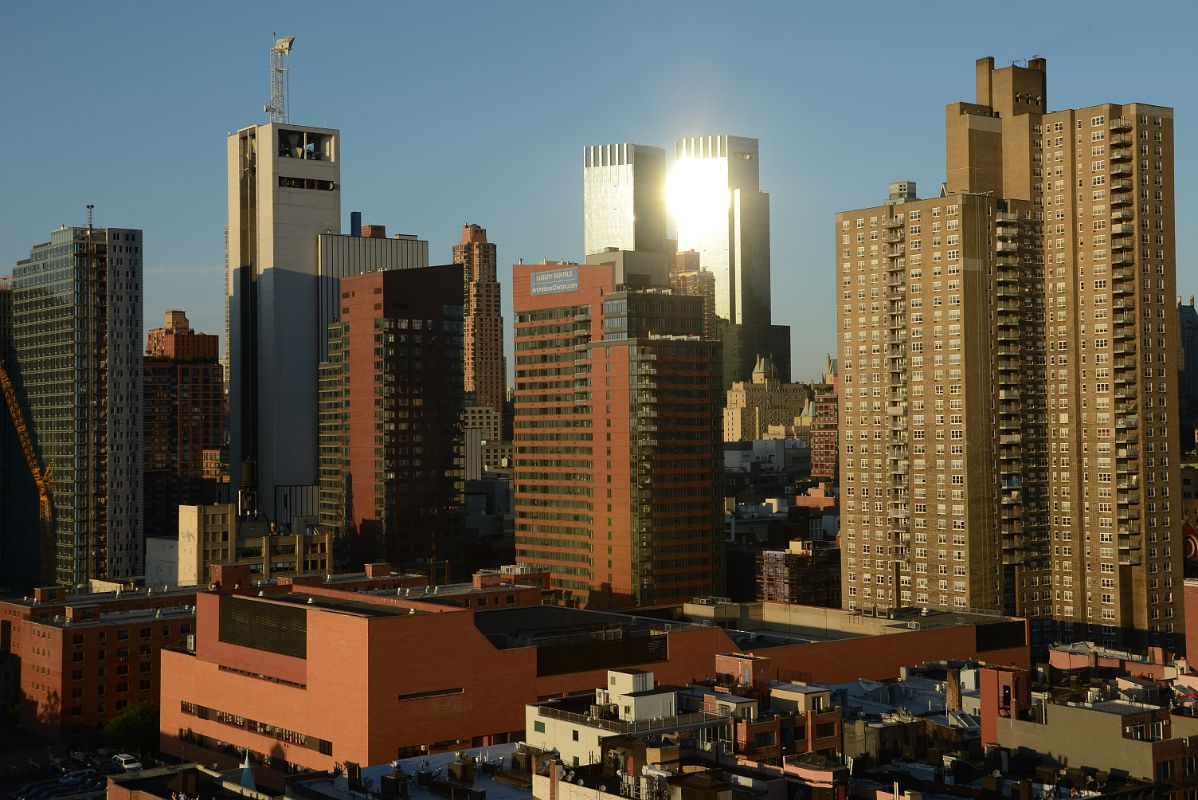 12 Att Switching Center Time Warner Before Sunset From New York Ink48 Hotel Rooftop Bar